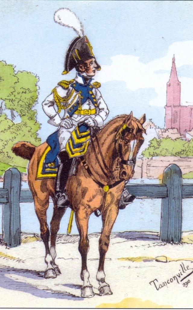 colonel gardes d'honneur de Strasbourg Numar140