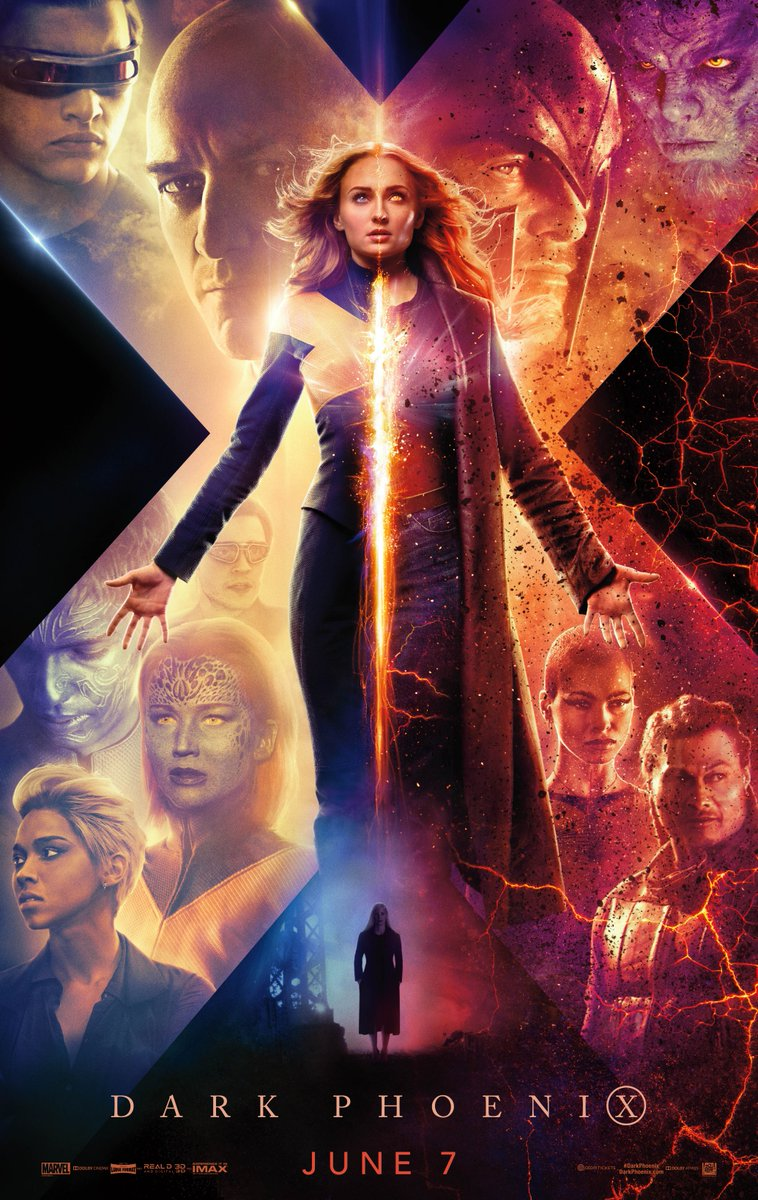 Affiches X-Men: Dark Phoenix D0wagl10