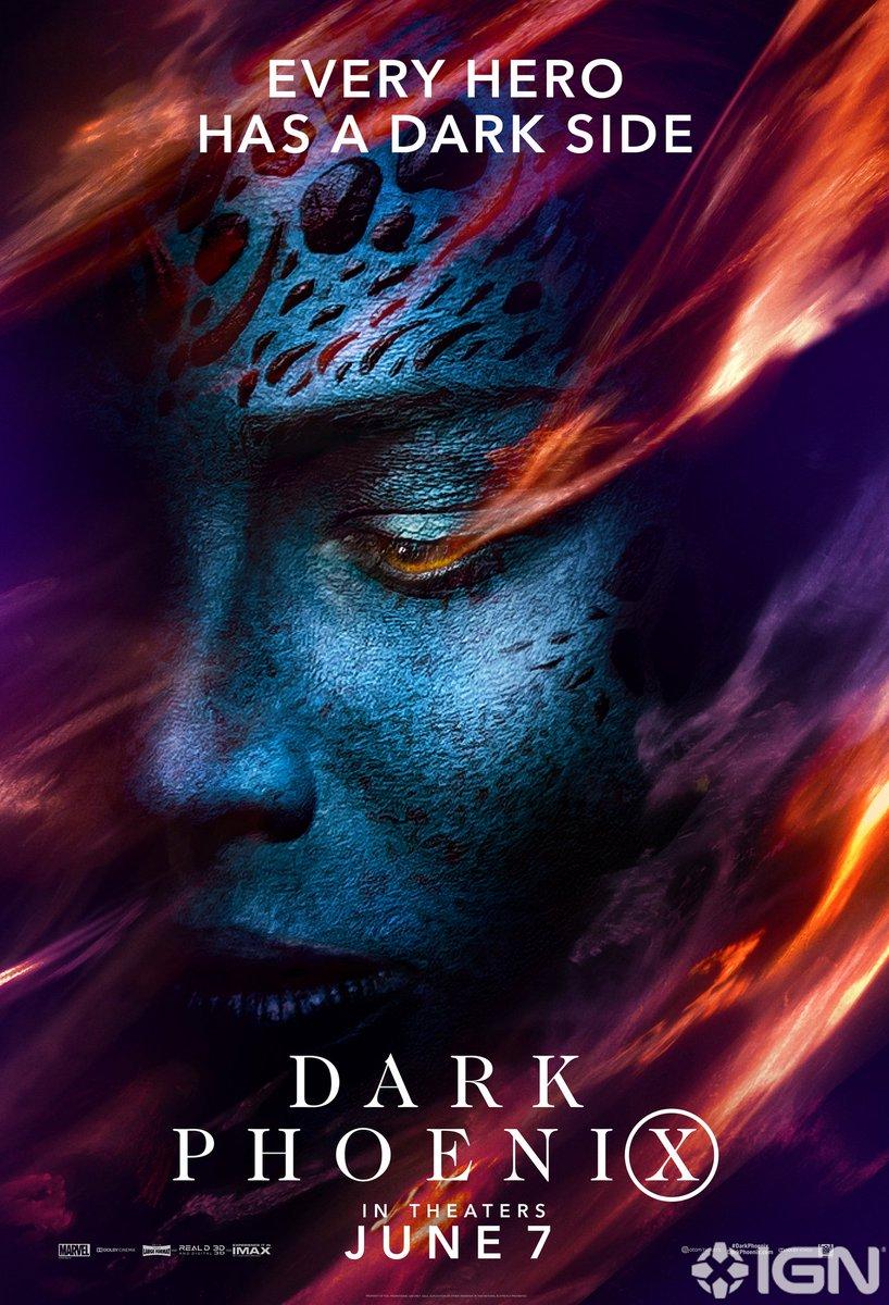 Affiches X-Men: Dark Phoenix D5qnox10