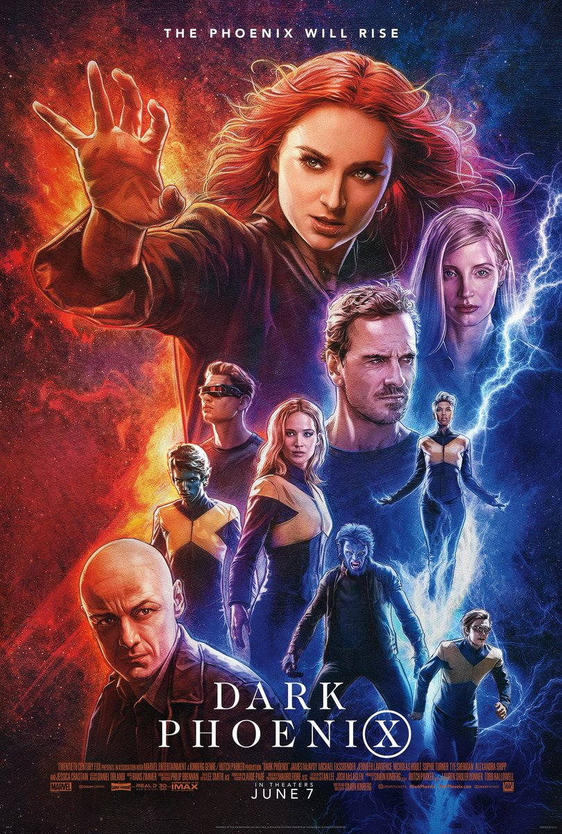 Affiches X-Men: Dark Phoenix D6im1q10