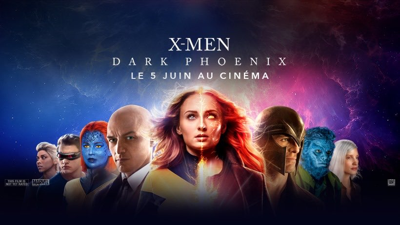Affiches X-Men: Dark Phoenix D6ispv10