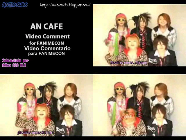 [Antic Subs] An Cafe To America FANIMECON Promo February2008 Screen10