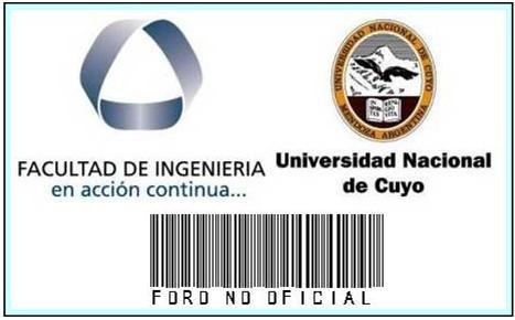 Facultad de Ingeniería UNCuyo