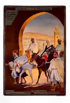 Le Tanger Fès à Meknès, les Gares, L'Ecole 2110
