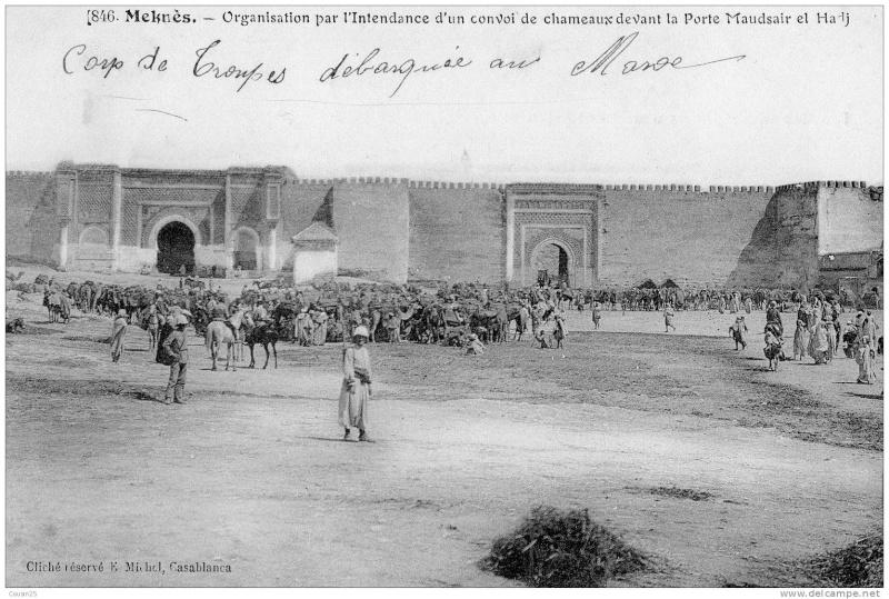 Meknès, ville de garnisons - Page 18 Bab_ma10