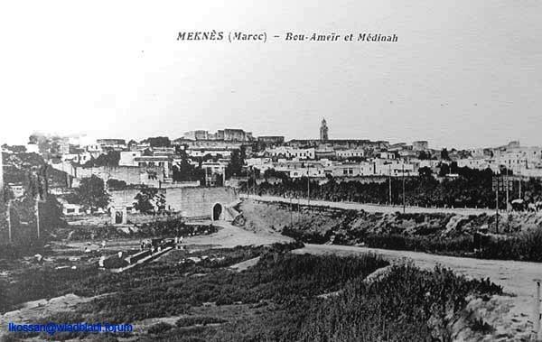 Meknès, ville de garnisons Bou_am10