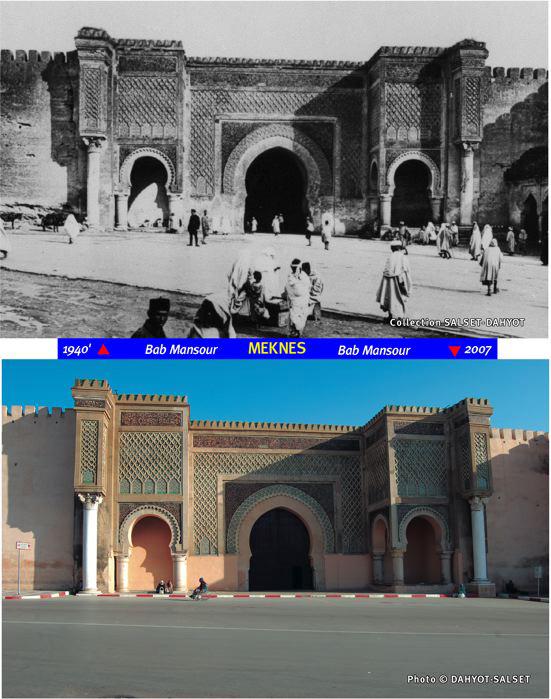 Meknès, Hier et Aujourd'hui C2_bab10