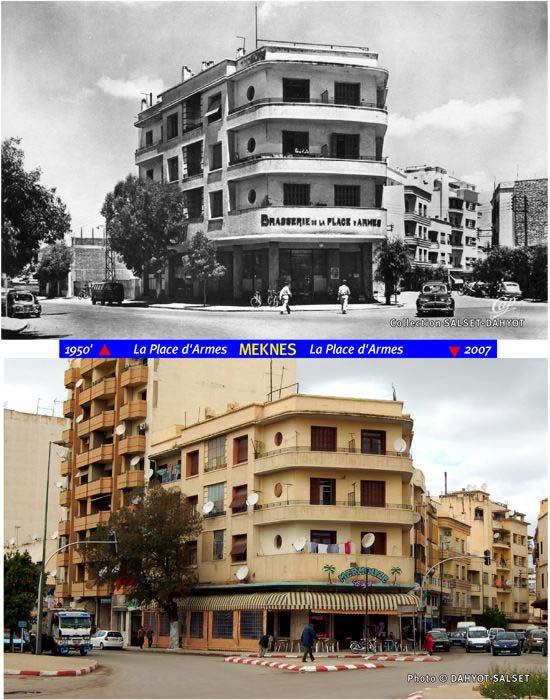 Meknès, Hier et Aujourd'hui C7_pla10