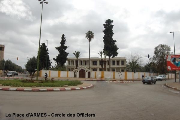 Meknès, ville de garnisons Cercle10