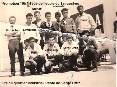 Le Tanger Fès à Meknès, les Gares, L'Ecole Ecole-10