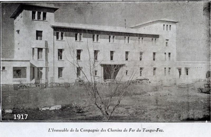 Le Tanger Fès à Meknès, les Gares, L'Ecole Imm_ch10