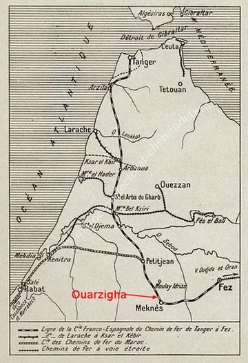 Meknès 1945, la catastrophe de OUARZIGHA Plan_l13