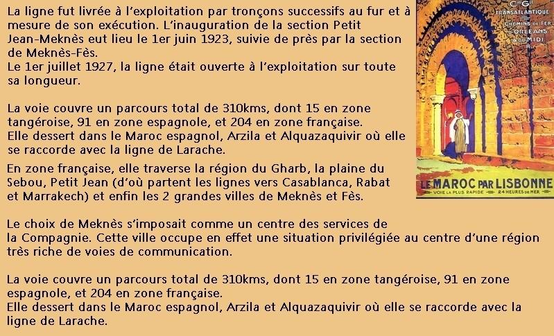Le Tanger Fès à Meknès, les Gares, L'Ecole Tablea14