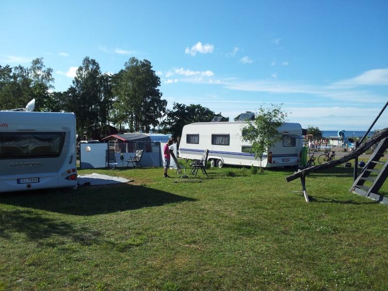 Camping på Øland i Sverige. 20120711