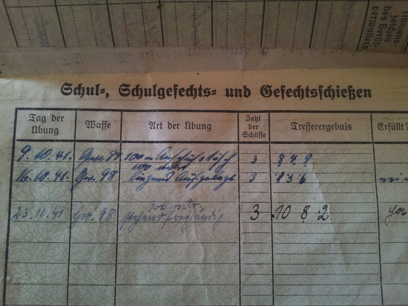 Vos livrets militaires allemands WWII (Soldbuch, Wehrpass..) / Heer-LW-KM-SS... 2011-202