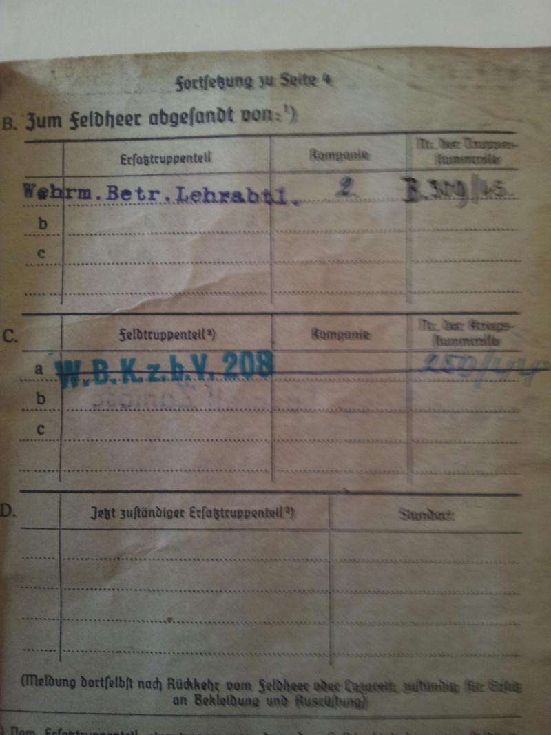 Vos livrets militaires allemands WWII (Soldbuch, Wehrpass..) / Heer-LW-KM-SS... 2011-206