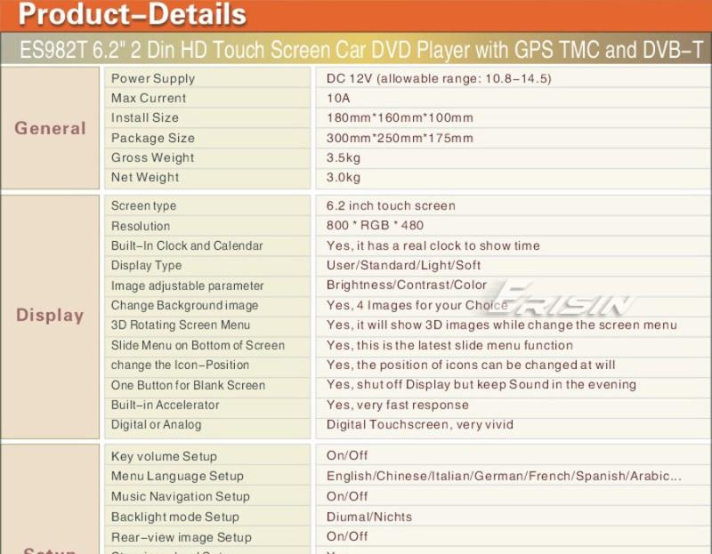 Installation d'un lecteur DVD - GPS  Es982t11