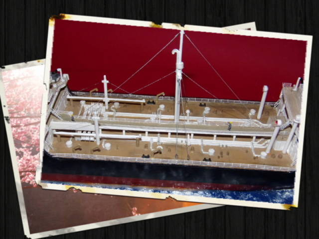 """[REVELL] Pétrolier Type T2 """"Esso Glasgow"""" aux couleurs de la BP Réf 05221  100_1257"""