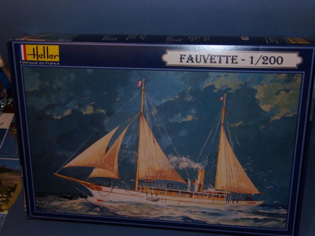 Fil rouge 2019 : Goélette la Fauvette Heller 1/200  100_1311