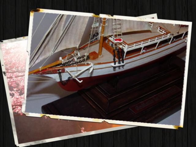 Yacht Fauvette (Heller 1/200°) par yann 100_1559