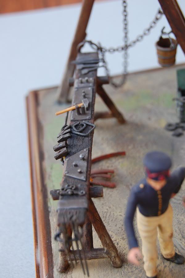 Bivouac d'ouvriers d'artillerie - Allemagne 1809 - Historex 1/32e 30-rcv16