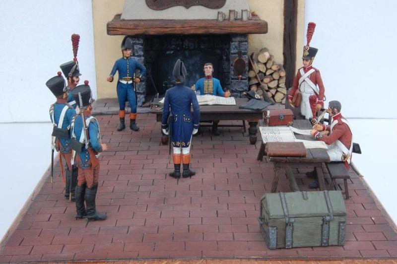 Service de Santé - Intendance: l'éternel conflit - Allemagne 1813 - Historex - 1/32e 30-rcv25