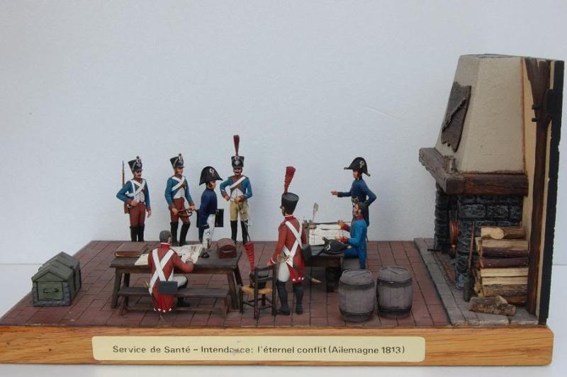 Service de Santé - Intendance: l'éternel conflit - Allemagne 1813 - Historex - 1/32e 30-rcv26