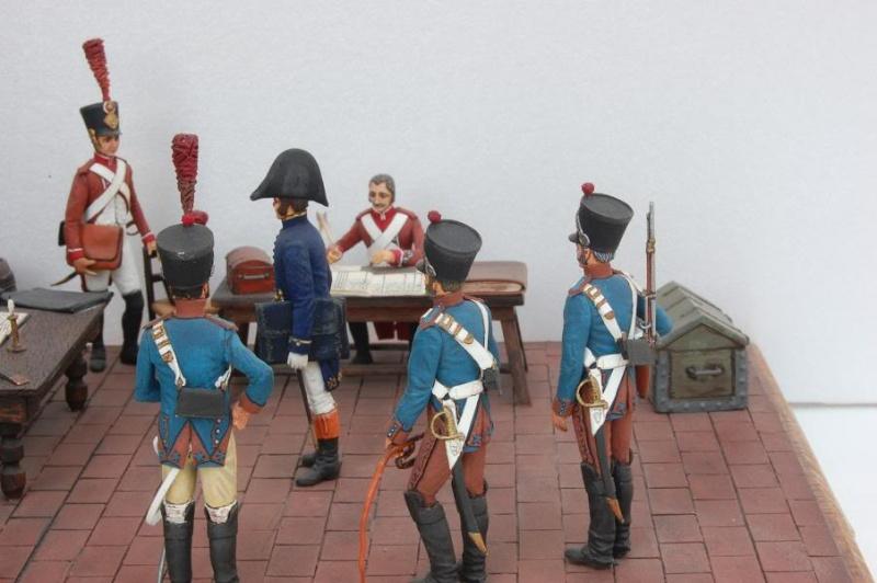 Service de Santé - Intendance: l'éternel conflit - Allemagne 1813 - Historex - 1/32e 30-rcv28