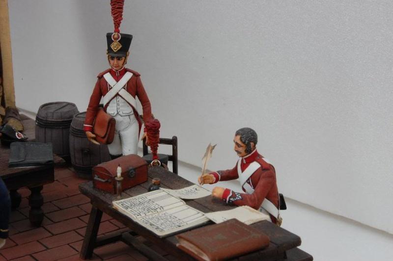 Service de Santé - Intendance: l'éternel conflit - Allemagne 1813 - Historex - 1/32e 30-rcv30