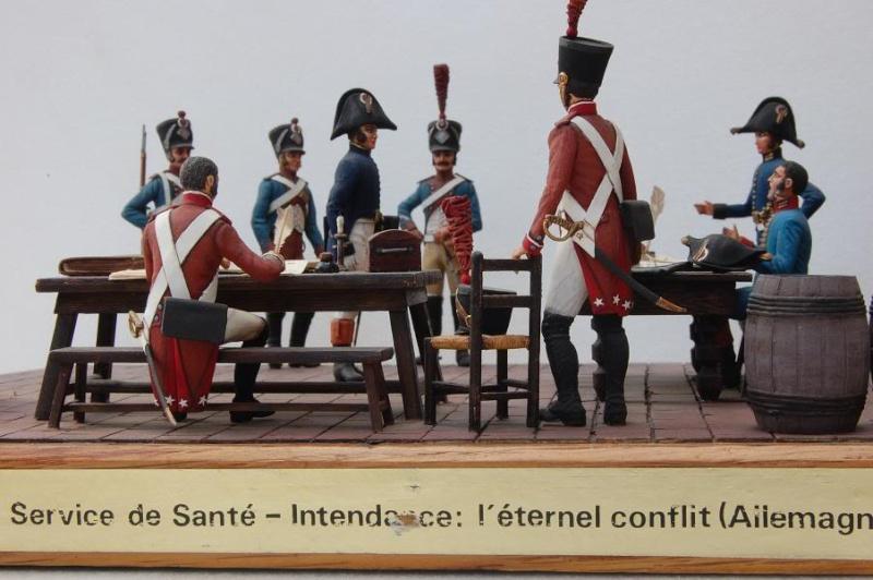Service de Santé - Intendance: l'éternel conflit - Allemagne 1813 - Historex - 1/32e 30-rcv40