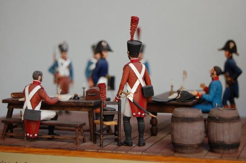Service de Santé - Intendance: l'éternel conflit - Allemagne 1813 - Historex - 1/32e 30-rcv41