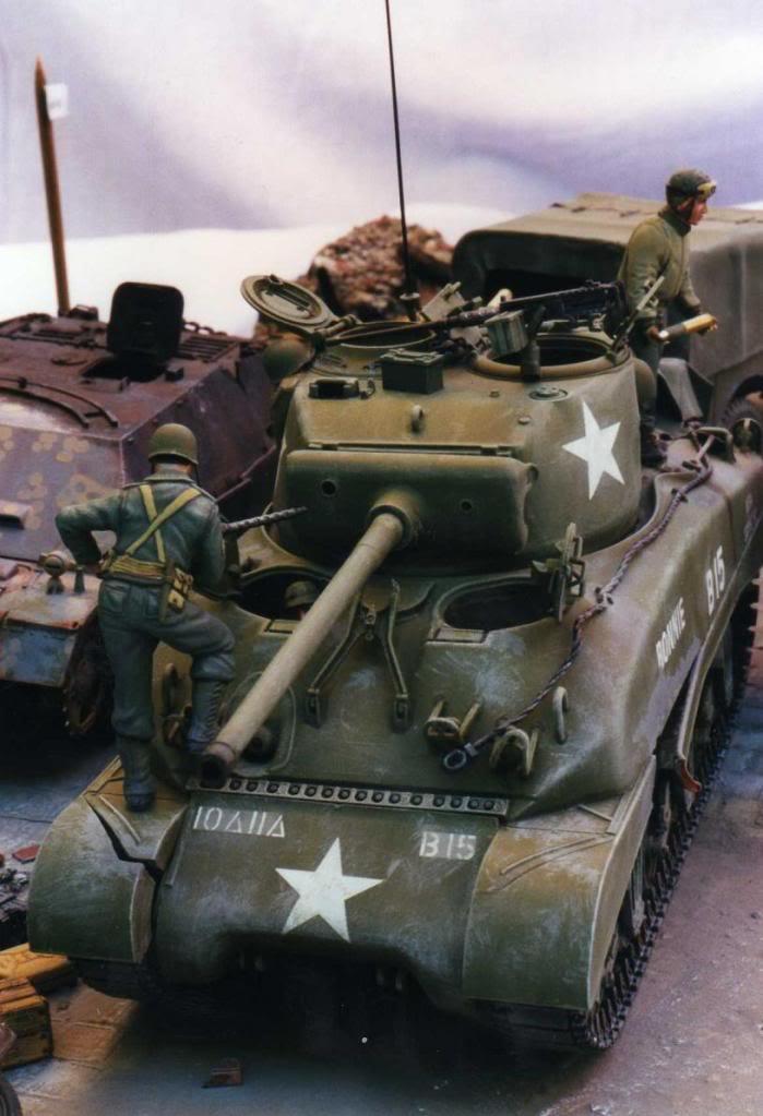 Après la percée, la pause maintenance. Allemagne mars 1945 Allema30