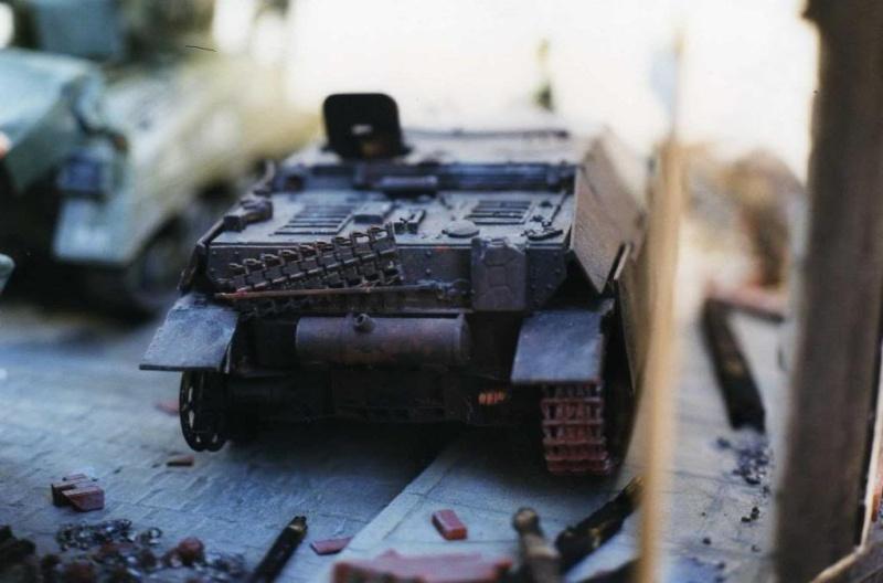 Sherman M4A1 Italeri - GMC CCKW 353 Heller - Dodge M6 Italeri - Jagdpanzer IV L/70 Italeri tout au 1/35e Allema36