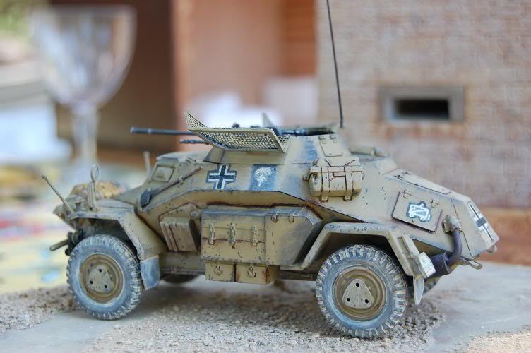 De Tobruk à El Alamein - Octobre 42 - Maquettes Tamiya et Italeri - Figurines MK35 - 1/35e Chezgr11