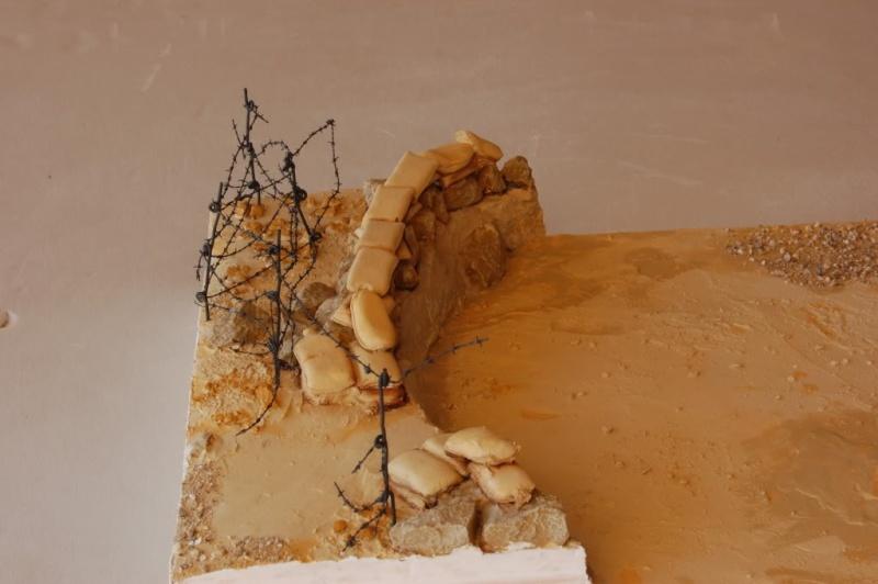 De Tobruk à El Alamein - Octobre 42 - Maquettes Tamiya et Italeri - Figurines MK35 - 1/35e Fortit16