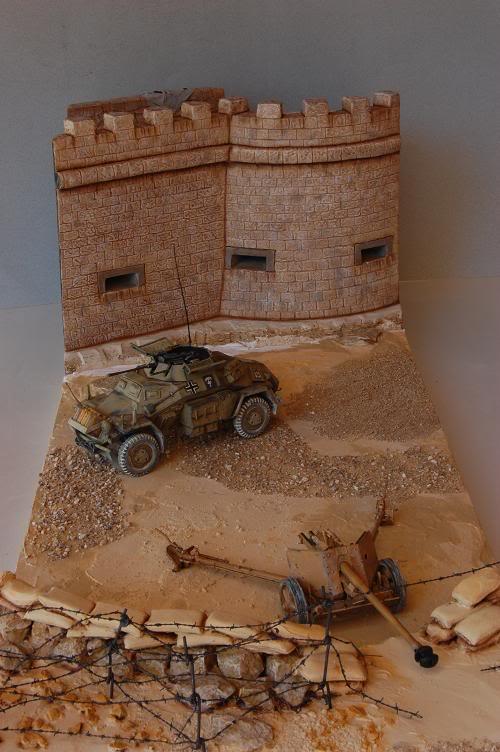 De Tobruk à El Alamein - Octobre 42 - Maquettes Tamiya et Italeri - Figurines MK35 - 1/35e Forum-10