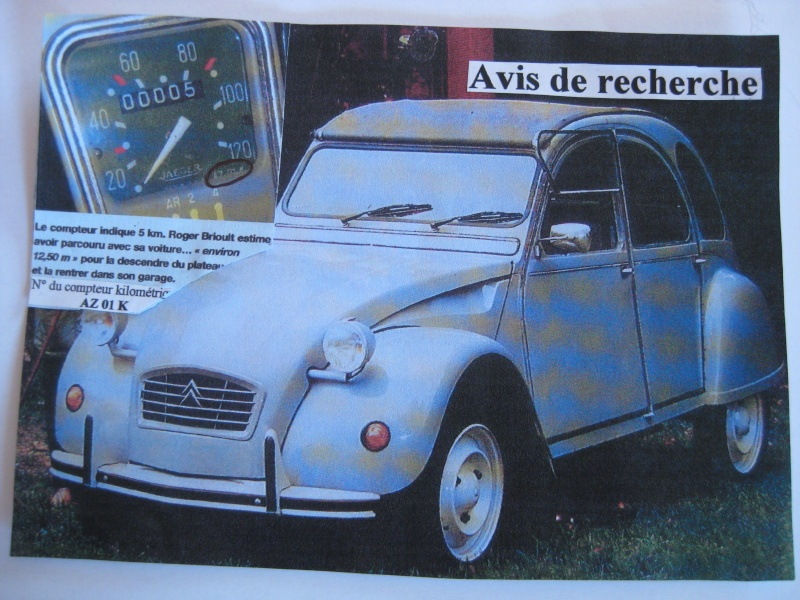 ALERTE VOL le derniere 2CV collection Roger Brioult 2cv_111
