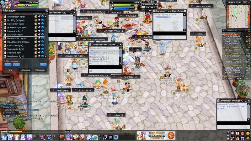 Screenez vos délirs sur Nostale 20111011
