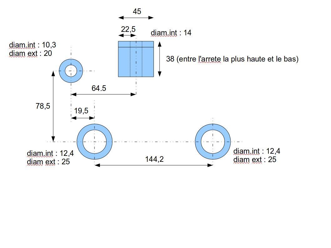 Commande - Fabrication support moteur Tub - TOUS VENDUS - Page 3 Suppor10