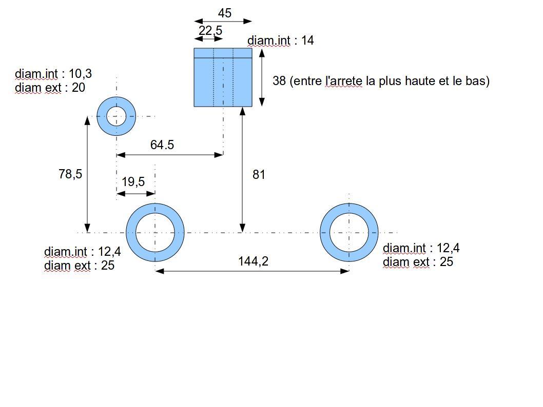 Commande - Fabrication support moteur Tub - TOUS VENDUS - Page 3 Suppor12