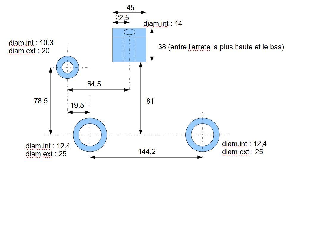 Commande - Fabrication support moteur Tub - TOUS VENDUS - Page 3 Suppor13
