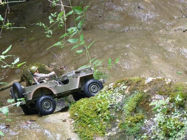 jeep willys en travaux......dans le 31 P1000919