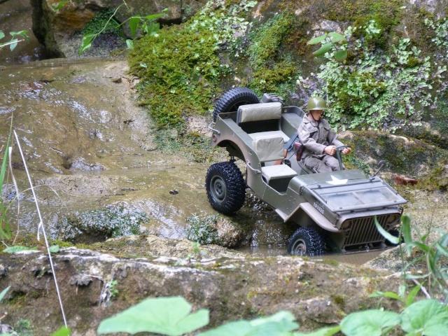 jeep willys en travaux......dans le 31 P1000921