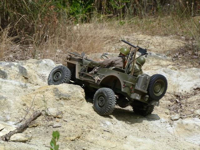 jeep willys en travaux......dans le 31 P1010012