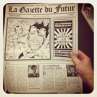 La BD du Visiteur du Futur : L'Élu des Dieux (+ La Gazette du Futur) Gazett10