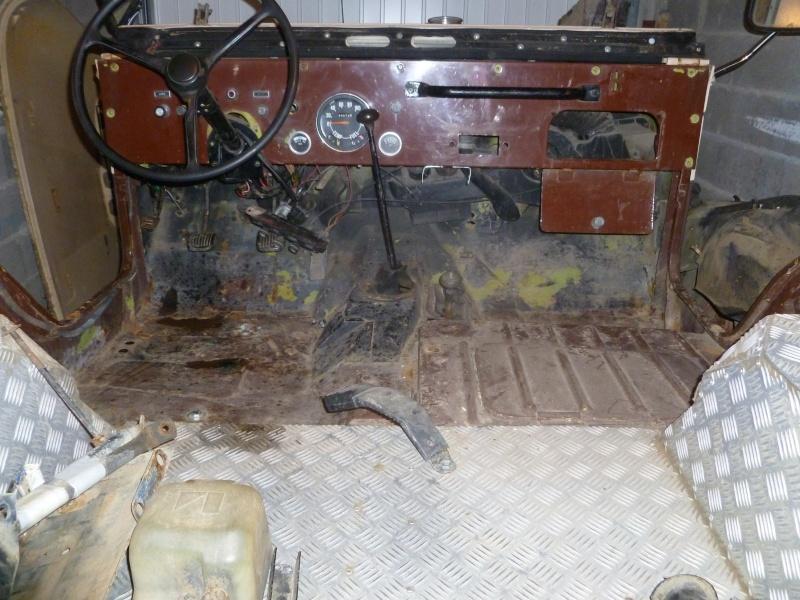 Restauration CJ5  P1030021