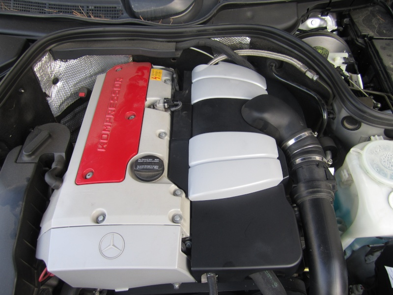 Nettoyage du compartiment moteur du CLK. Img_2010