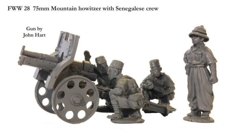 75 Mle 1919 section d'artillerie de Largeau  45730310