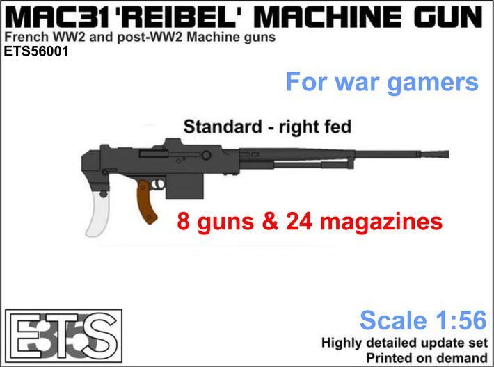 MAC 31 Reibel Medium Machine Gun chez Shapeways  710x5210
