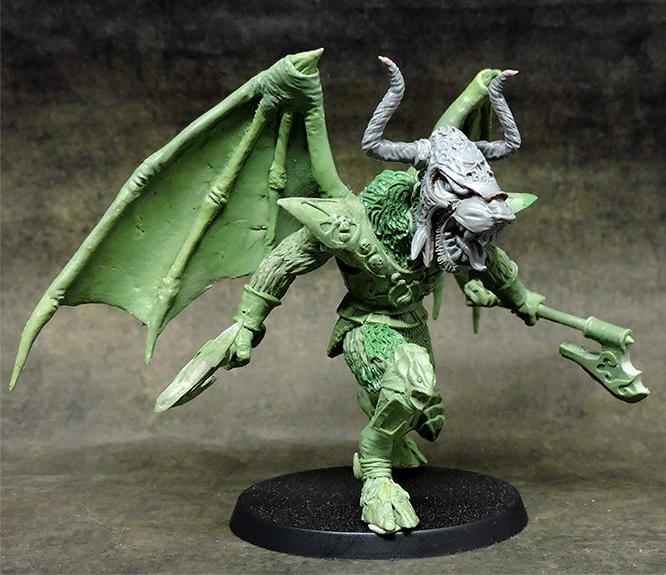 Des hommes bêtes, des gobs mutant, un démon, le tout Oldhammer en Kickstarter  Captur44